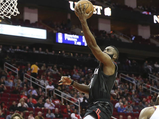 Result: Harden triple-double fires Rockets to big win over Cavaliers