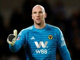 John Ruddy in action during the FA Cup third-round game between Wolverhampton Wanderers and Liverpool on January 7, 2019