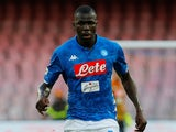 Napoli defender Kalidou Koulibaly pictured in September 2018