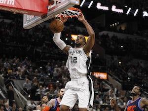 Aldridge scores career-high 56 points as Spurs defeat Thunder