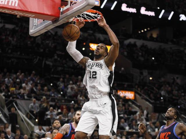 Result: Aldridge scores career-high 56 points as Spurs defeat Thunder