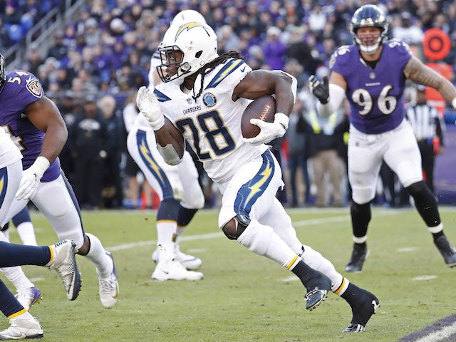 Result: Chargers resist Ravens rally to book play-off against Patriots