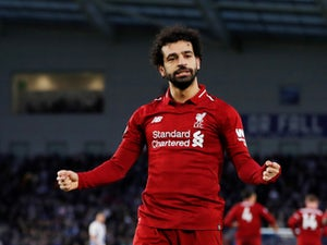 Mohamed Salah admits pressure is on Liverpool