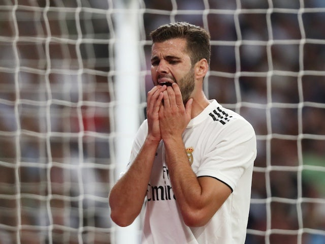 Real Madrid defender Nacho pictured in September 2018