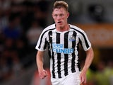 Sean Longstaff in action for Newcastle United on July 24, 2018