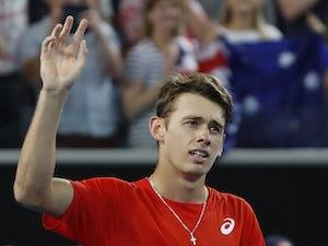 Home favourite Alex De Minaur pulls out of Australian Open through injury