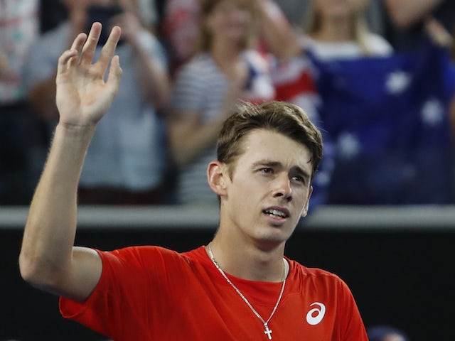 Home favourite Alex De Minaur pulls out of Australian Open through injury
