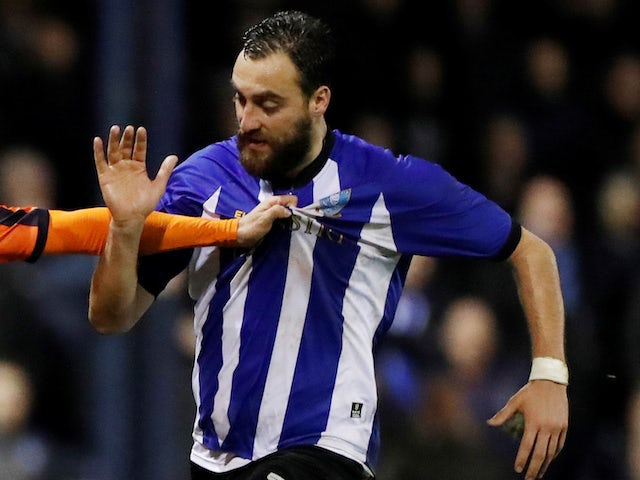 Atdhe Nuhiu in action for Sheffield Wednesday on January 15, 2019