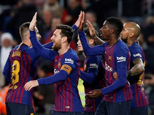 How Barcelona could line up against Lyon