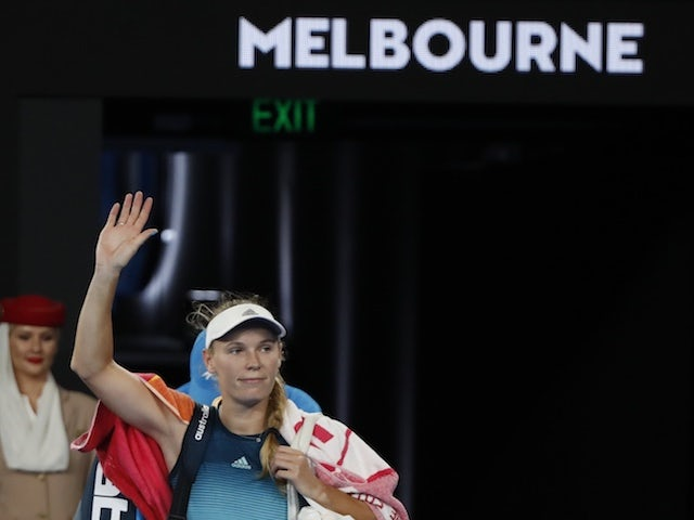 Wozniacki expecting emotional farewell in Australia as retirement looms
