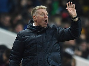 Dean Smith in charge of Aston Villa on January 19, 2019