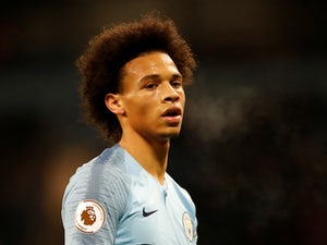 Manchester City winger Leroy Sane in action during the Premier League clash with Wolverhampton Wanderers on January 14, 2019