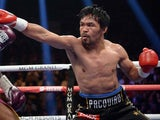Manny Pacquiao in action on January 19, 2019