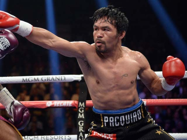Manny Pacquiao calls out Floyd Mayweather after victory over Broner