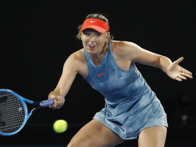 Sharapova out of French Open with shoulder injury