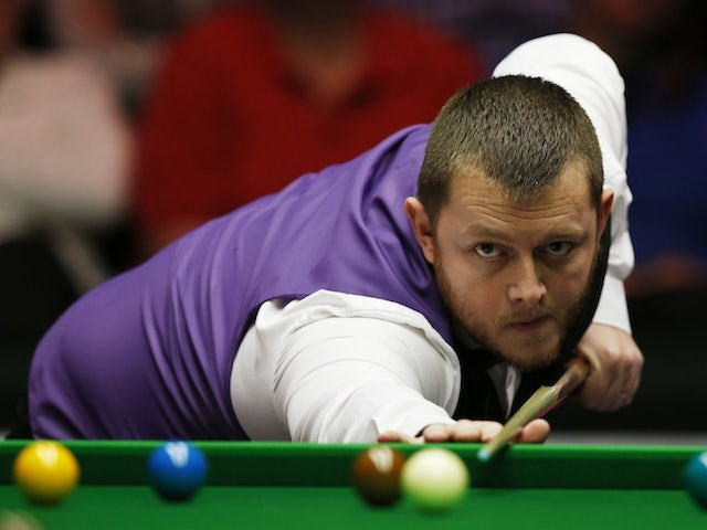 Defending champion Mark Allen suffers first-round exit at Alexandra Palace