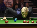 Neil Robertson in action in February 2016