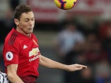 Nemanja Matic in action for Manchester United on January 2, 2019