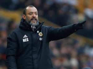 Nuno Espirito Santo  during the Premier League game between Wolverhampton Wanderers and Leicester City on January 19, 2019