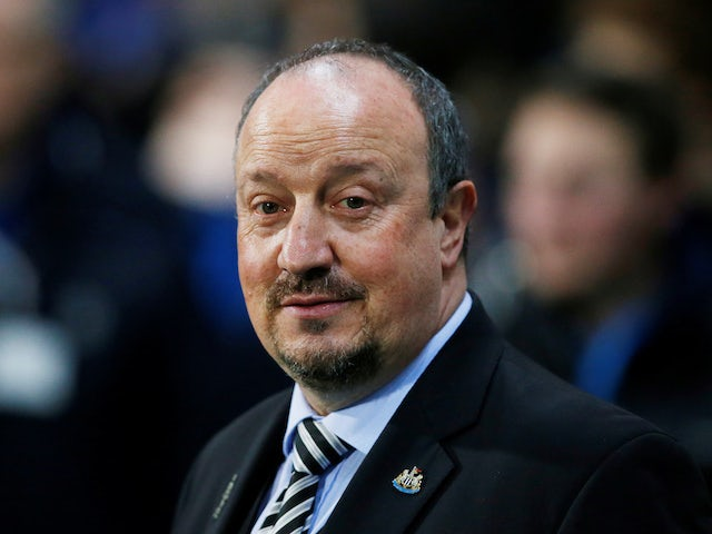 Rafael Benitez in charge of Newcastle United on January 15, 2019