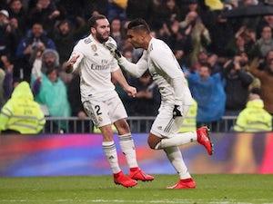 Casemiro hits stunner in Real Madrid win