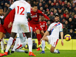 Live Commentary: Liverpool 4-3 Crystal Palace - as it happened