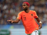 Ryan Babel pictured playing for Netherlands in September 2018