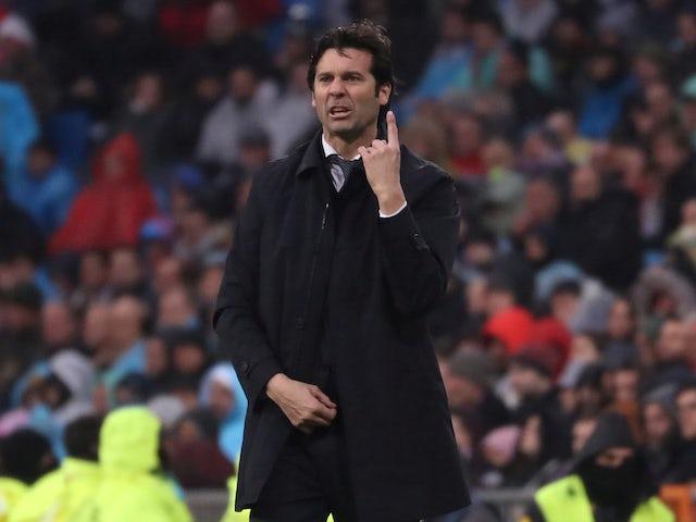 Santiago Solari retains hope of leading Real Madrid to La Liga glory