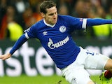 Sebastian Rudy in action for Schalke in the Europa League on October 24, 2018