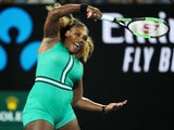 Serena Williams in action at the Australian Open on January 17, 2019