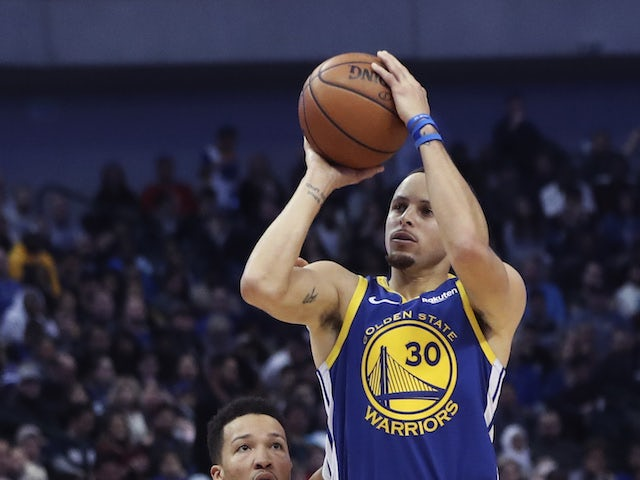 Result: Steph Curry stars for Golden State Warriors