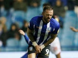 Steven Fletcher in action for Sheffield Wednesday on November 27, 2018