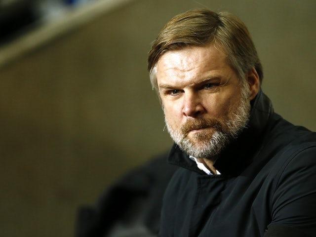 Carlisle sack manager Steven Pressley