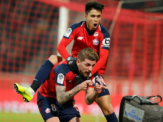 Result: Late Xeka effort earns Lille maximum points against Amiens