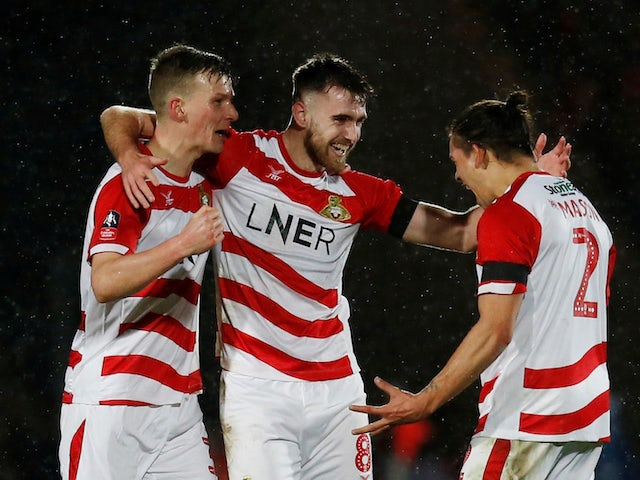 Result: Whiteman takes Doncaster into last 16 of FA Cup