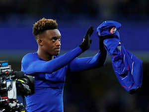 Callum Hudson-Odoi after Chelsea's FA Cup win over Sheffield Wednesday on January 27, 2019.