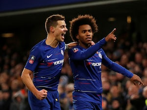 Chelsea stroll into FA Cup fifth round