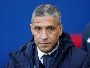 Hughton admits Brighton feeling 'deflated' after Cardiff loss