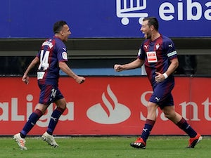 Eibar cruise to victory against Espanyol