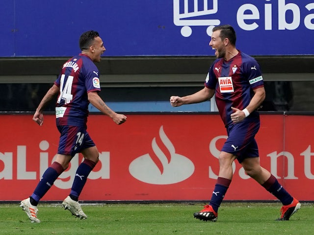 Result: Eibar cruise to victory against Espanyol