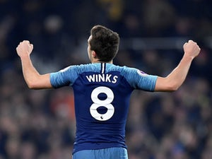 Winks delighted to have played so many games for Tottenham this season