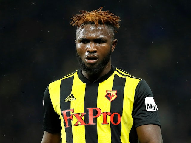Isaac Success in action for Watford on December 4, 2018