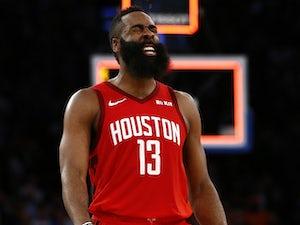James Harden claims career-high 61 points as Rockets blast Knicks
