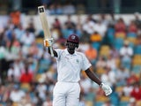 Jason Holder in action for West Indies on January 25, 2019