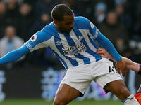 Jason Puncheon in action for Huddersfield Town on January 20, 2019