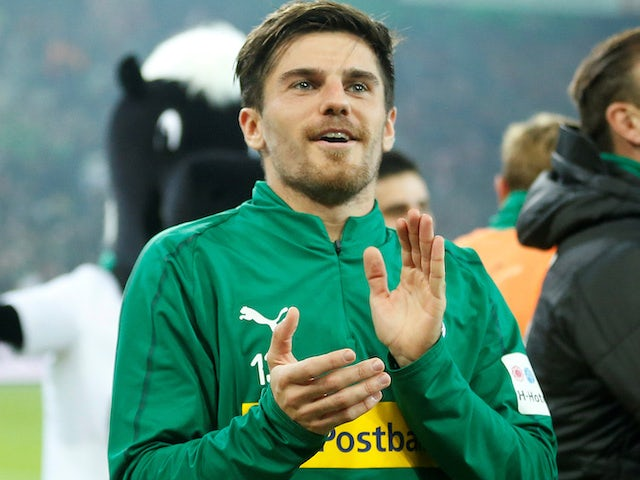 Borussia Monchengladbach's Jonas Hofmann pictured on November 4, 2018