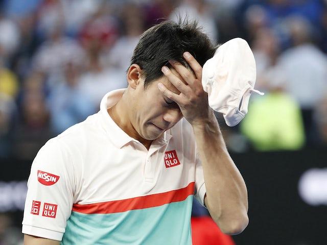 Result: Nishikori injury hands Djokovic easy passage to Australian Open semi-finals