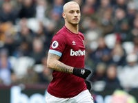 Marko Arnautovic in action for West Ham United on January 12, 2019