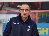 Martin O'Neill in charge of Nottingham Forest on January 26, 2019