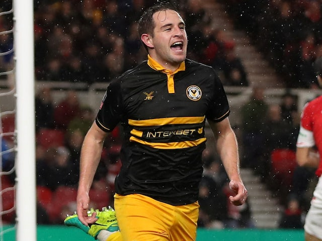 Result: Dolan nets late equaliser as Newport earn Middlesbrough replay